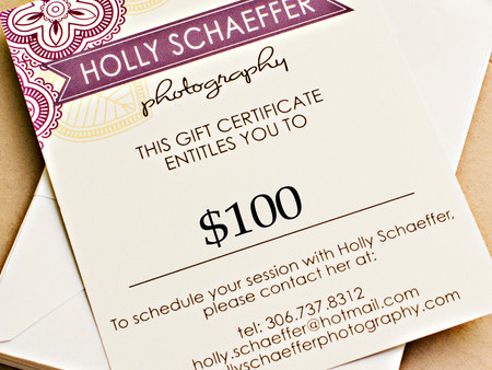 "Check out my ""Gift Certificate"" page for more info."