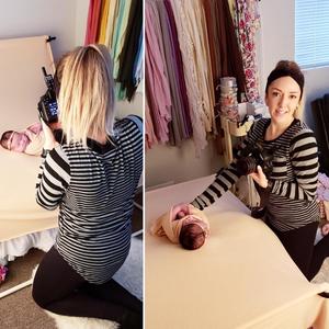 newborn photography studio regina