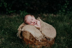 Outdoor Newborn Photos Regina