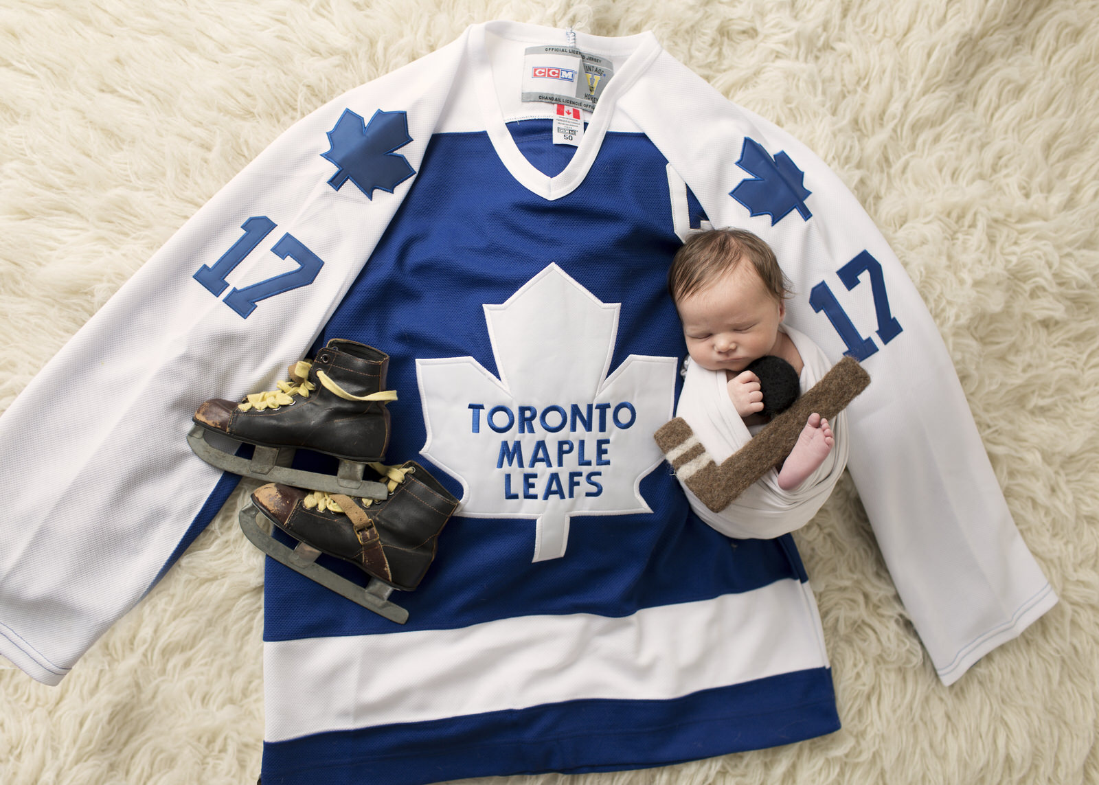 Newborn Toronto Maple Leafs fan!