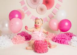 Pink Cake Smash