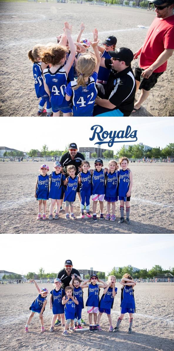 Regina Royals Softball Team