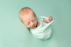 Mint Theme Newborn Session