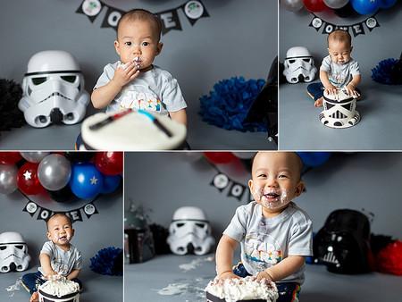 Star Wars Cake Smash