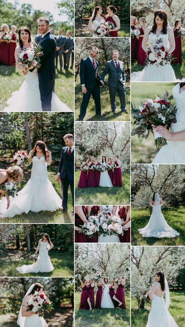 Bridal Party Photos Regina