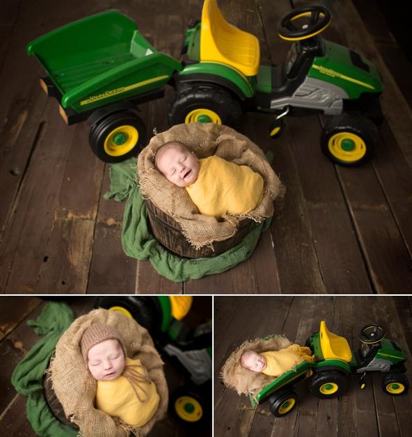 John Deere Tractor Newborn