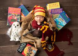 Harry Potter Newborn Photos Regina