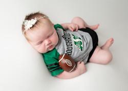Sask Roughrider Newborn Photos
