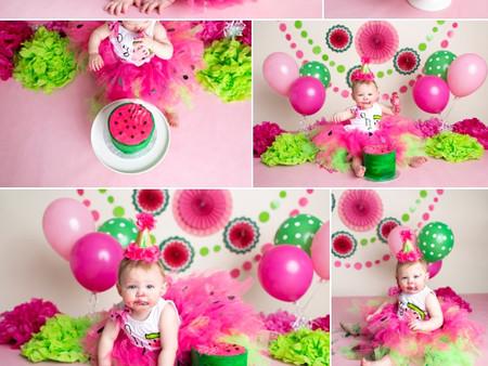 Watermelon Cake Smash!