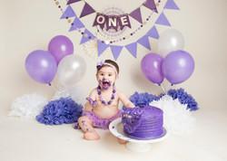 Purple Cake Smash Regina