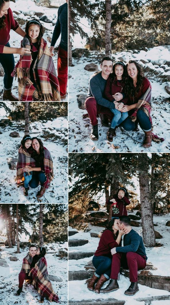 Wintery Family Photos