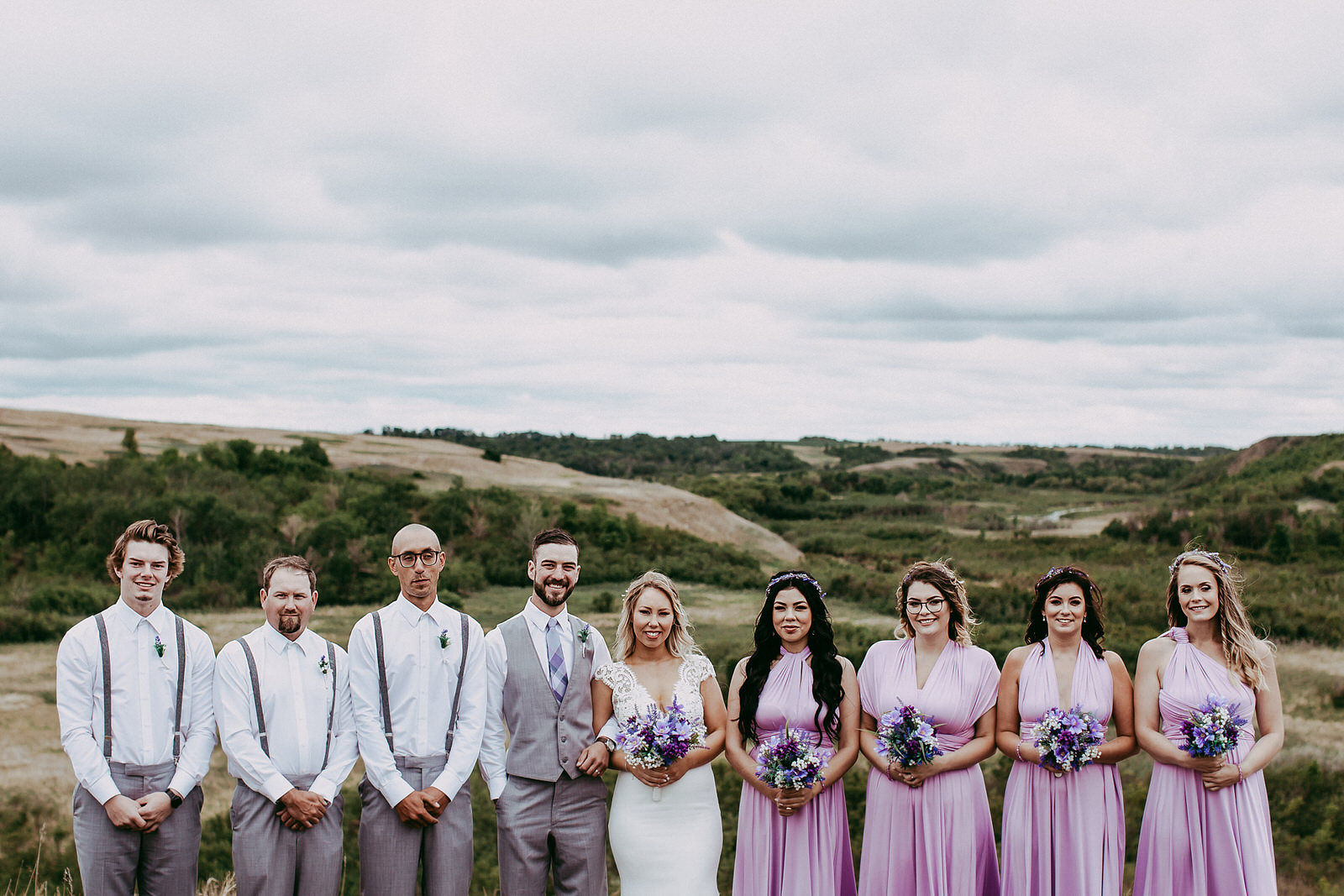 Wascana Trails wedding ceremony