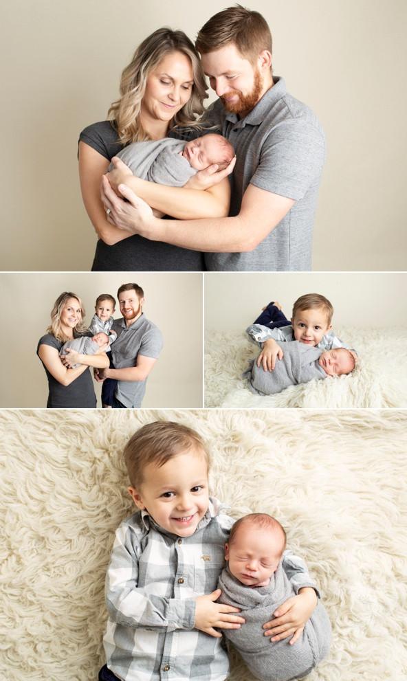 newborn baby boy Regina Photography family