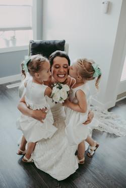 Regina wedding flower girls