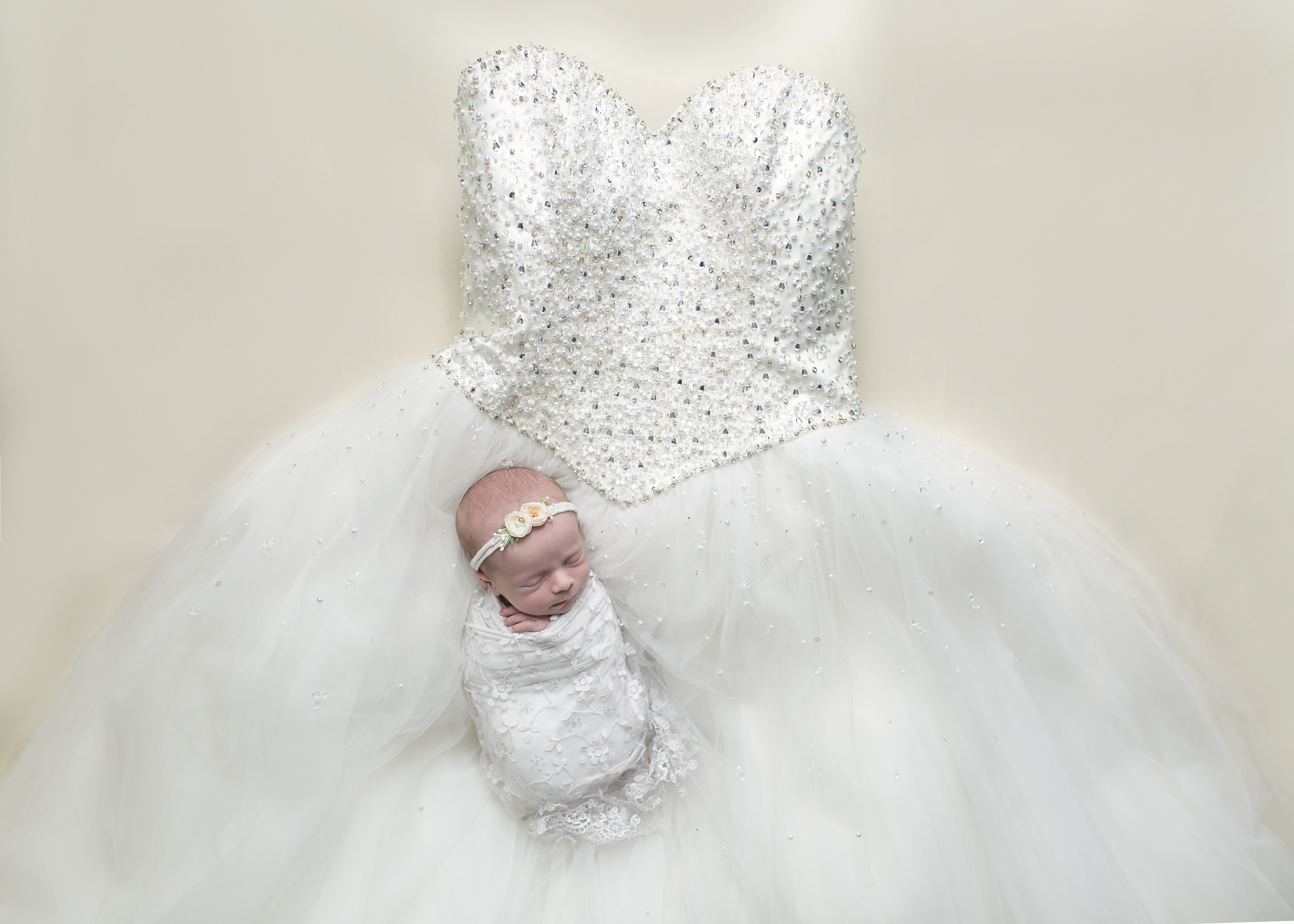 newborn wedding dress regina