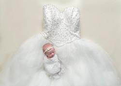 newborn wedding dress regina