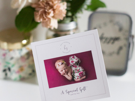 Gift Certificate for a photo session