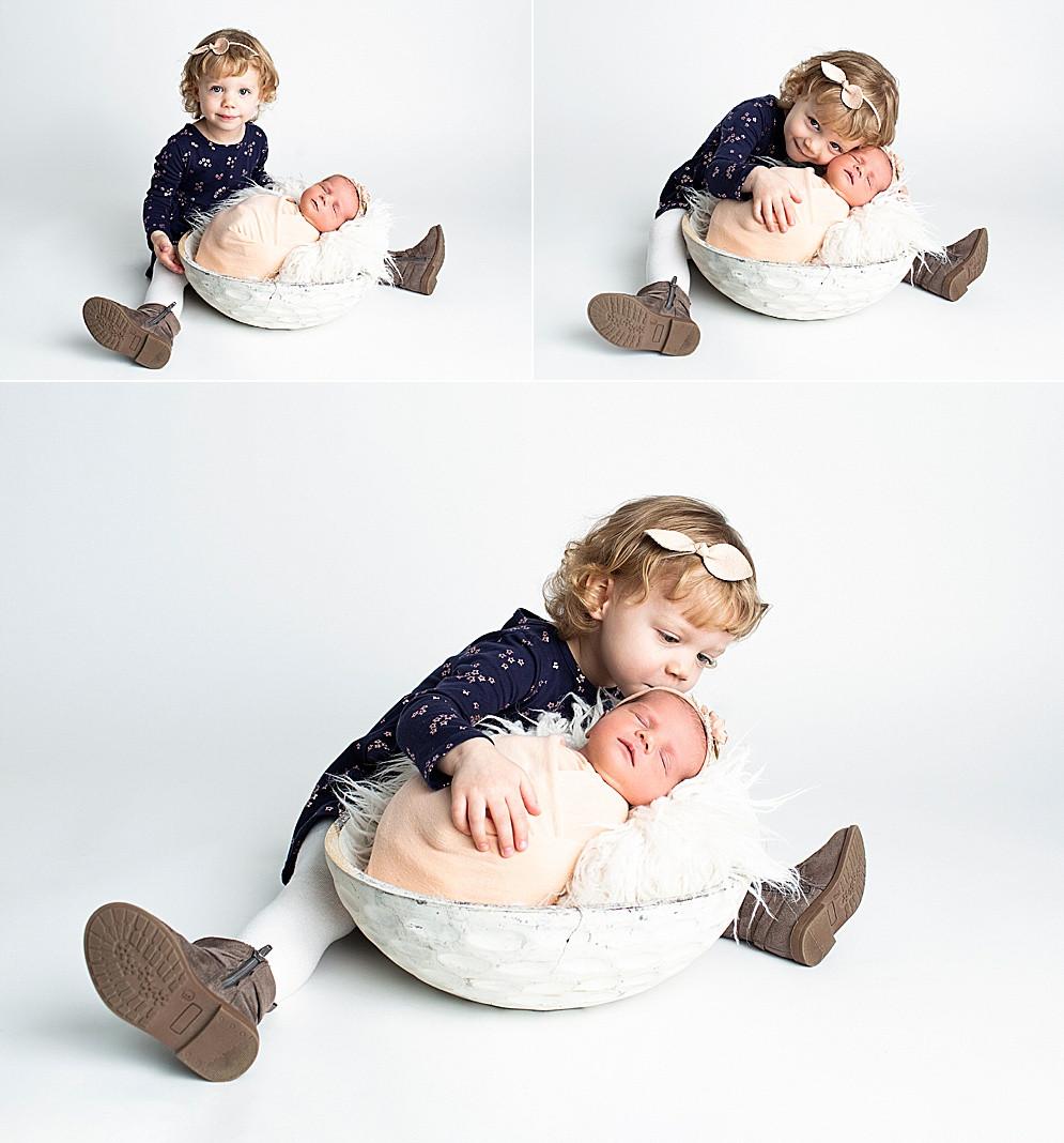Regina Newborn Baby Photography Sibling
