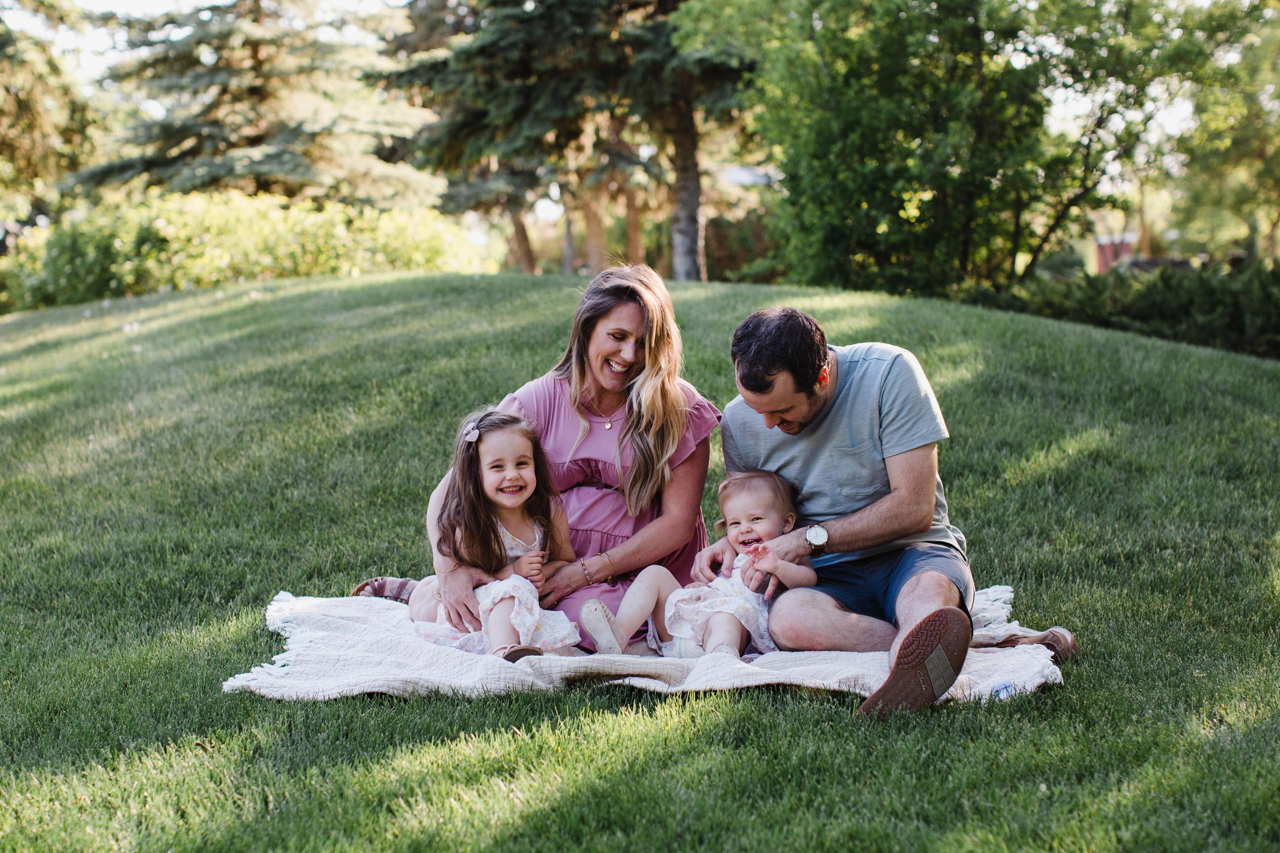 Regina Family Maternity Photos