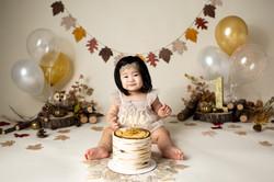 Boho Autumn Cake Smash