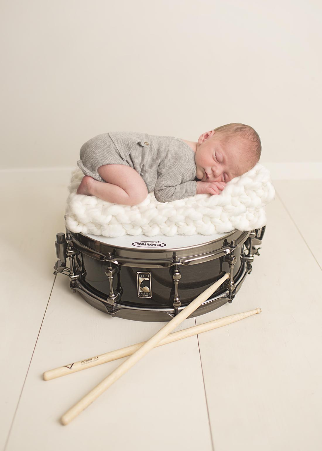 Newborn Photos Drum