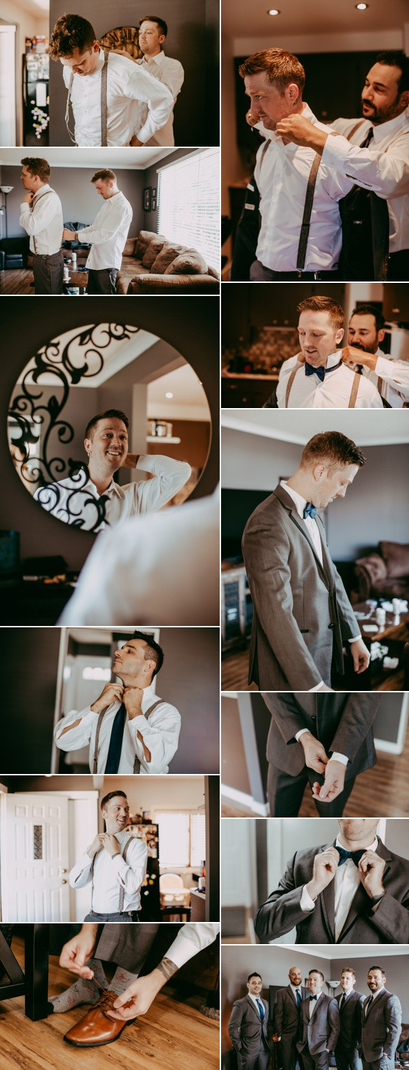 Garret's Wedding Day - Getting Ready