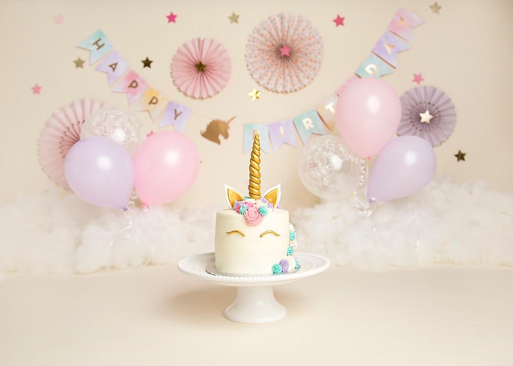 Gorgeous Unicorn cake by The Cakery