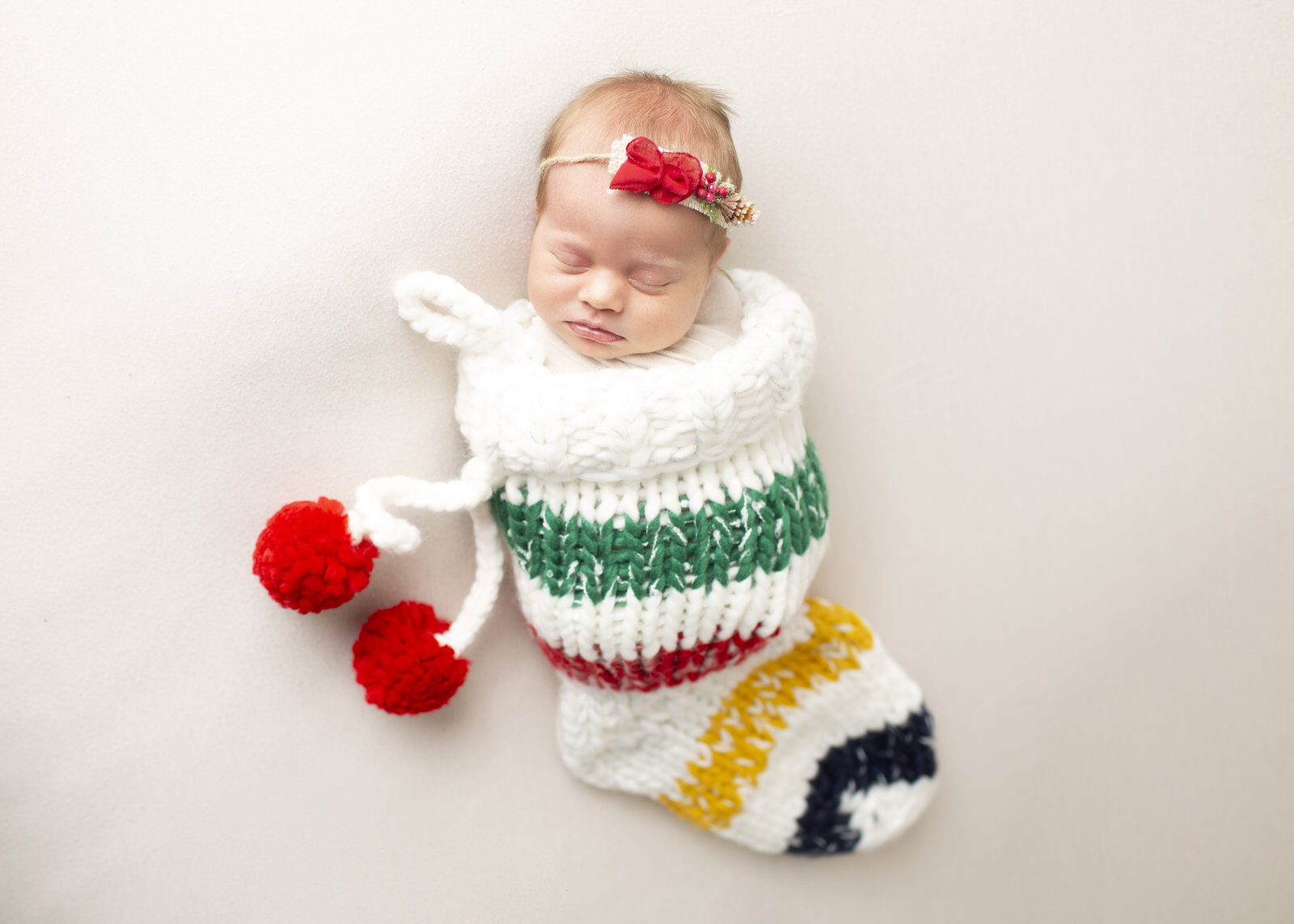 Christmas Newborn Photo Regina