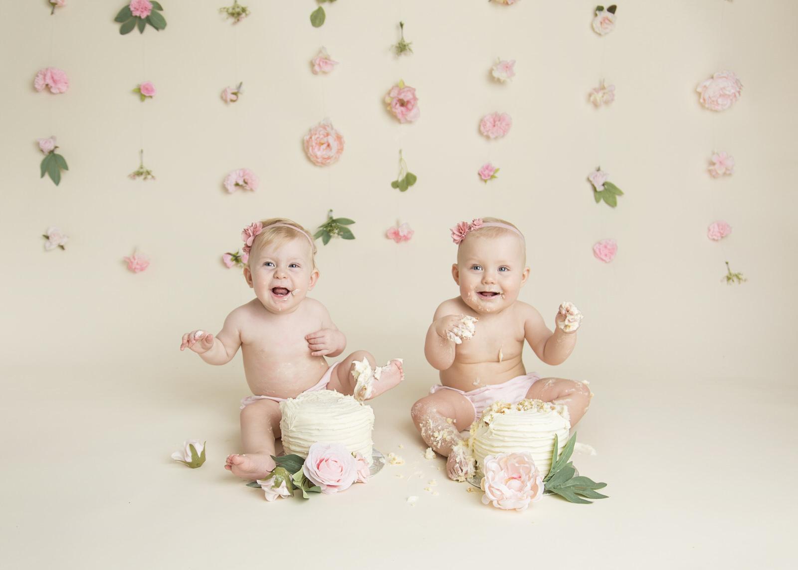 Cake Smash Twins Regina