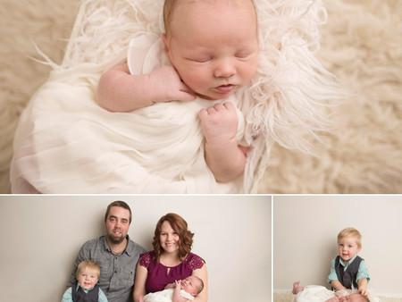 Baby Zahara + Family