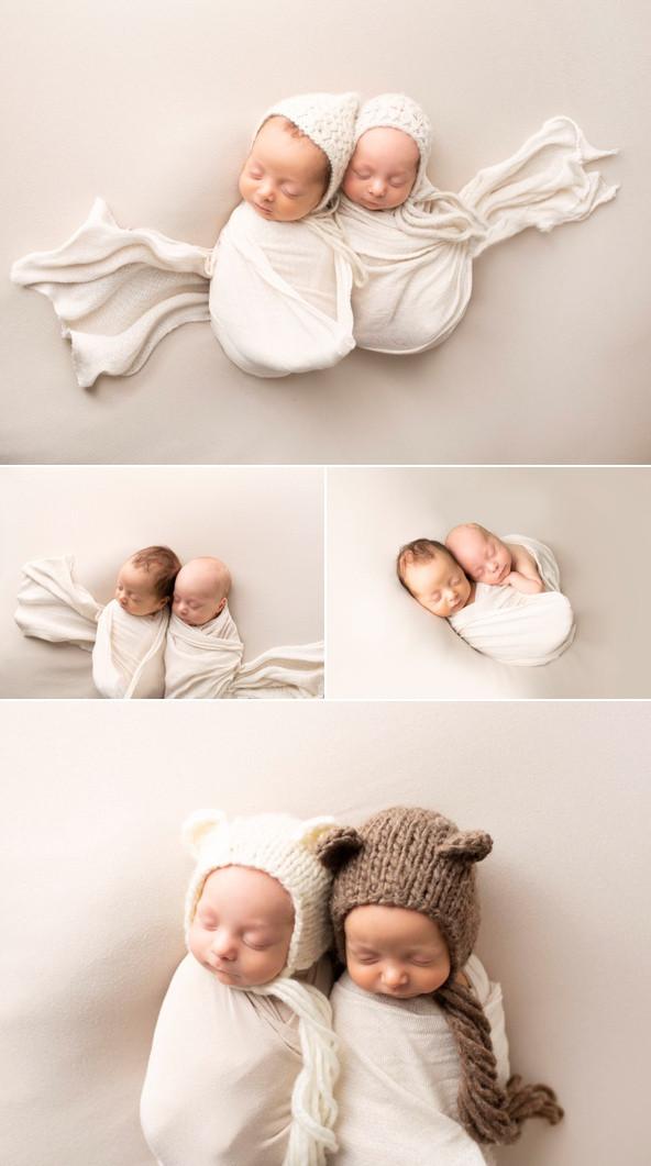 Newborn Photography Regina Twins