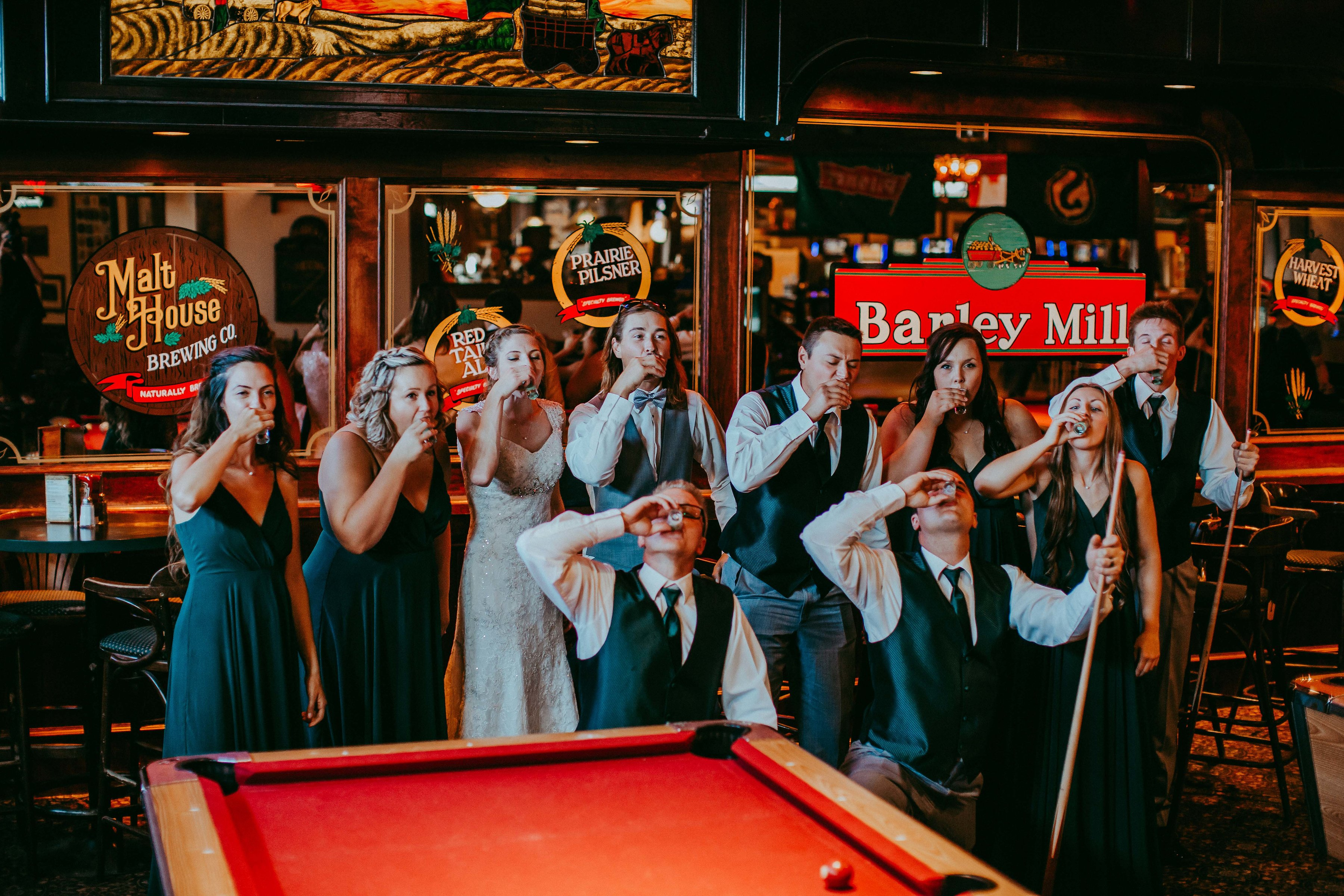 Regina Wedding Photo Barley Mill Pub