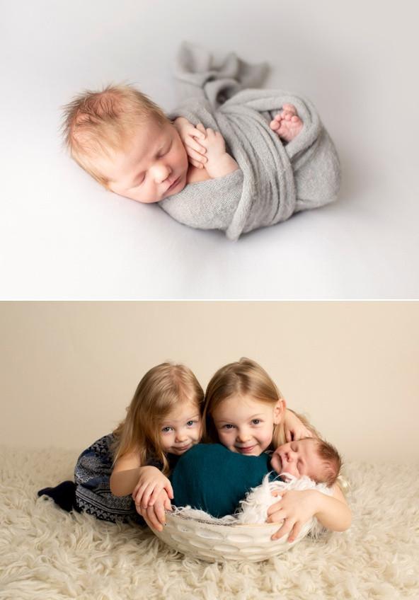 newborn boy regina photography