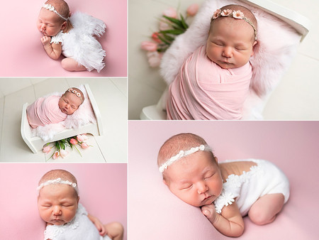Little pink angel - Baby Levi