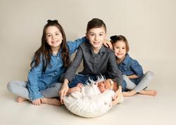 Siblings Newborn Photographer