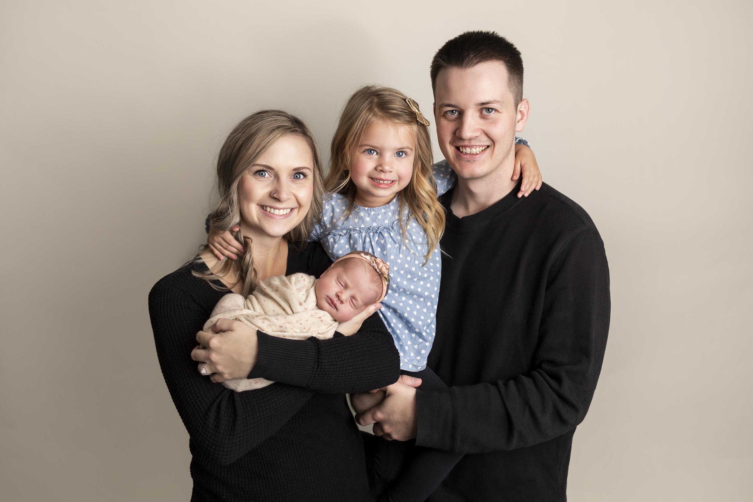 Family Newborn Photos Regina