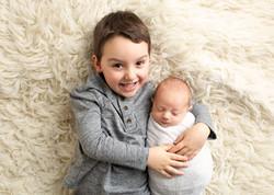 Sibling Newborn Regina Sask photos