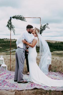 Wascana Trails wedding ceremony