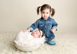 Baby With Sibling