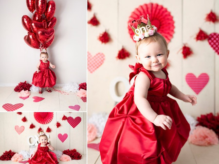 This little lady is a Valentine's Day Baby!