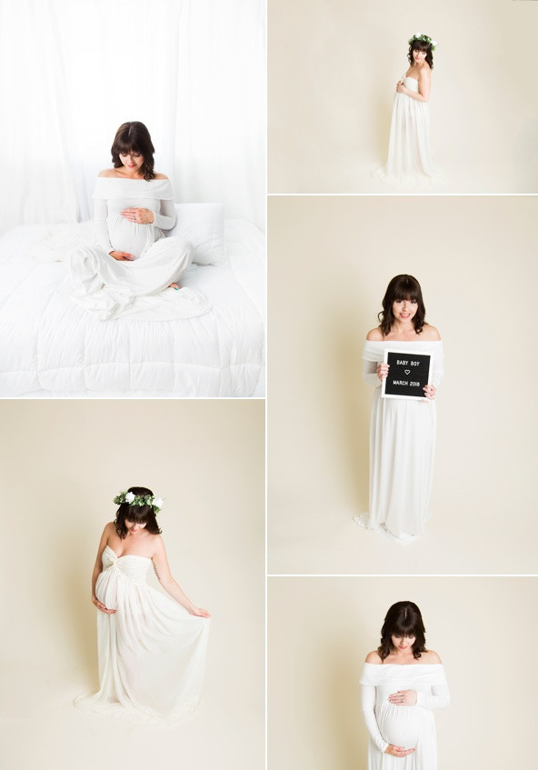 regina maternity photos gown