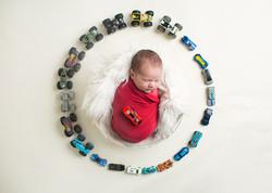 Toy Cars Newborn Photos