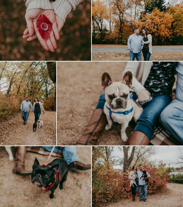engagement photos in Regina Sask