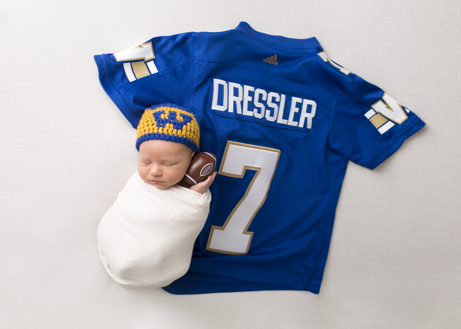 Winnipeg Blue Bomber Newborn