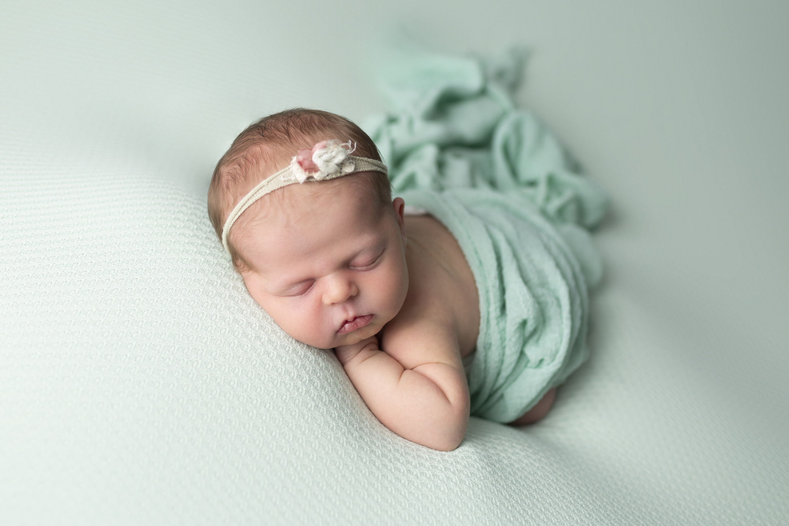 Mint Newborn Photos