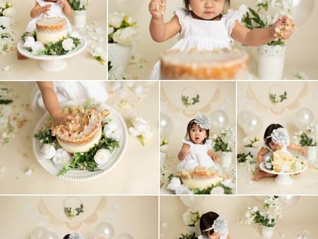 Floral Cake Smash