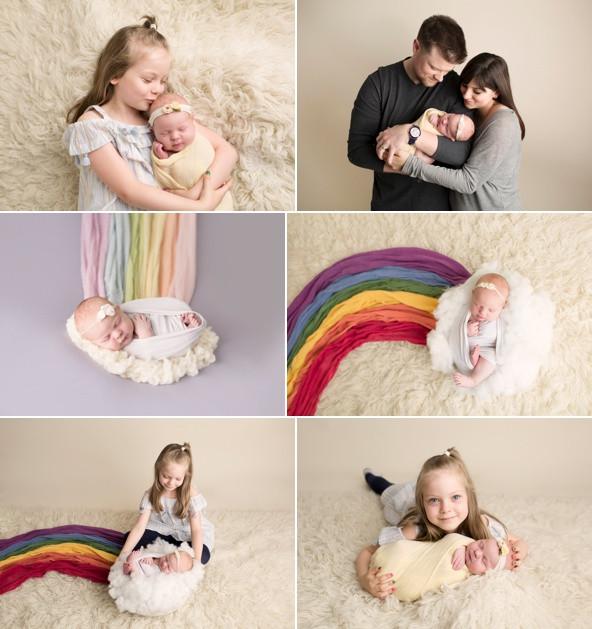 Rainbow baby Regina