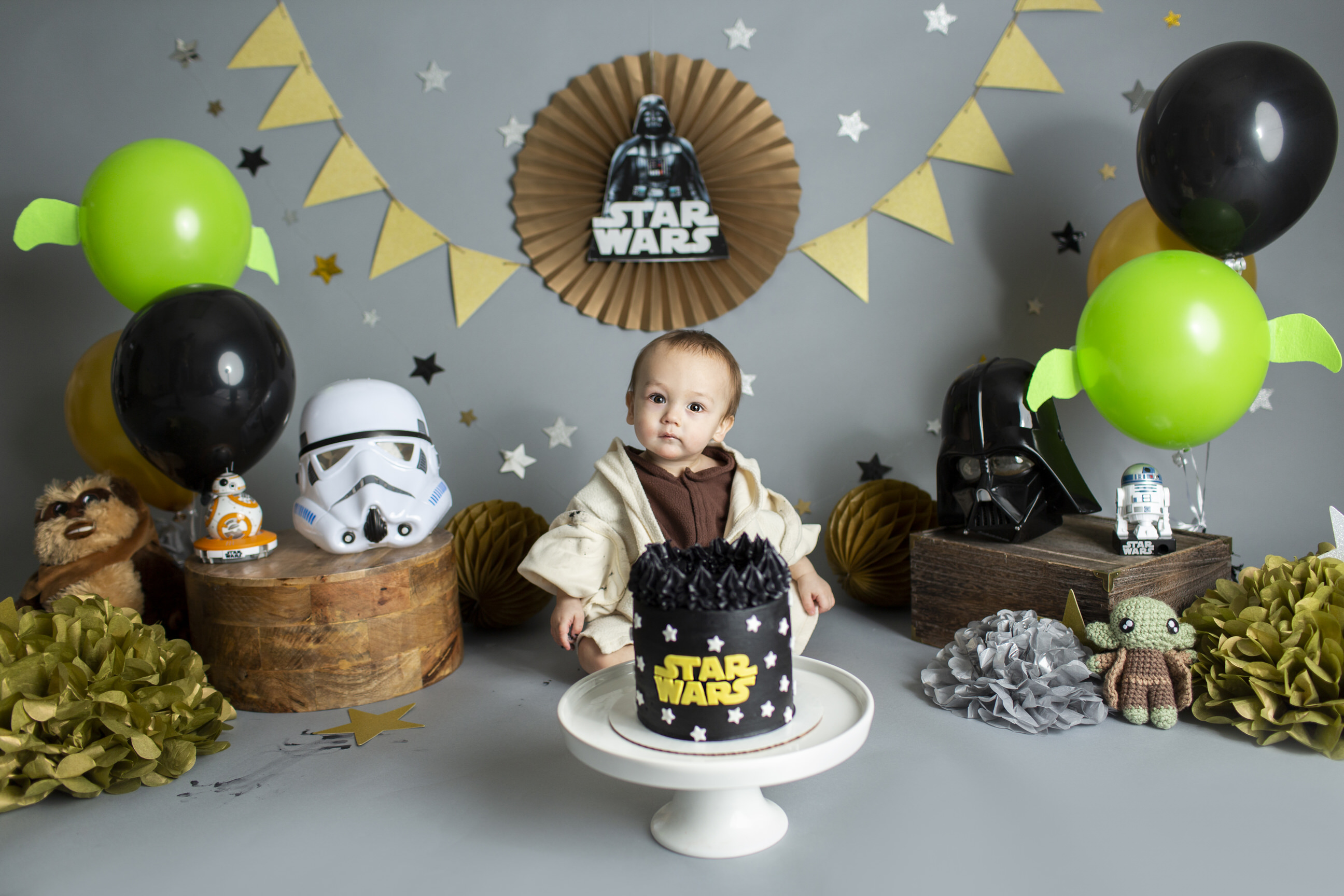 Star Wars Cake Smash