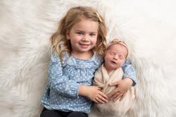 Sibling and Newborn Photos