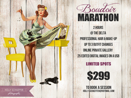 Contact me to book your boudoir session!
